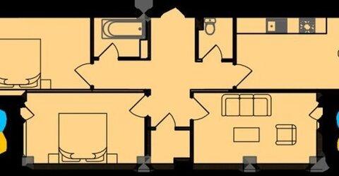 Продаю 3-е квартиру в новостройке