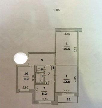 Продам 3-комнатную квартиру в центре - Фото 4