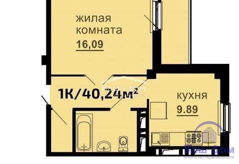 Продается однокомнатная квартира в сданном доме на Чкаловском - Фото 2