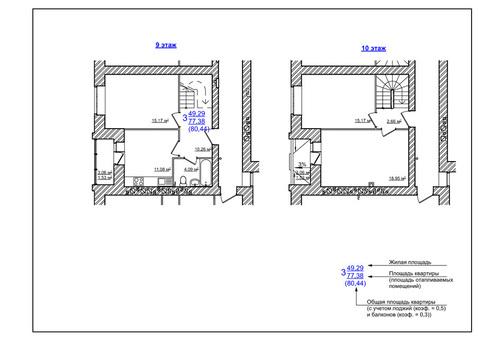 Двухуровневая квартира с индивидуальным отоплением на 1ой-Шоссейной - Фото 5