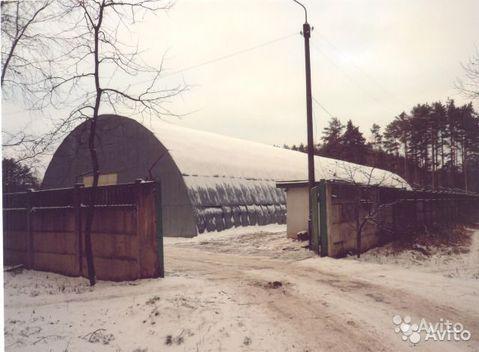 Утепленное складское помещение (ангар) на Киевском шоссе 500 кв.м - Фото 1