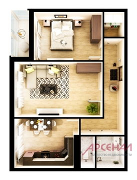 Продаётся 2-комнатная квартира - Фото 4