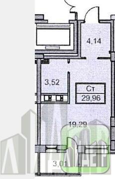 """1-комнатная квартира в новом доме квартал """"Премьер"""" - Фото 1"""
