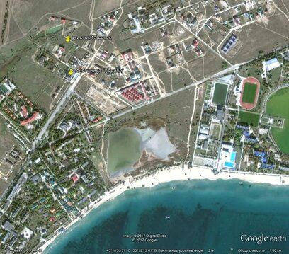 Заозерное, Лимановка, 15 соток, море 850 метров - Фото 1