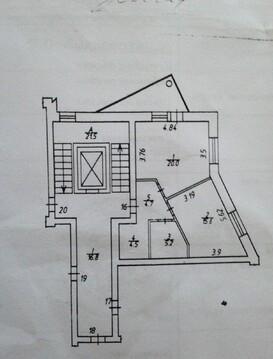 1 комнатная квартира 50м2 Калуга, ул Баррикад 144 - Фото 1