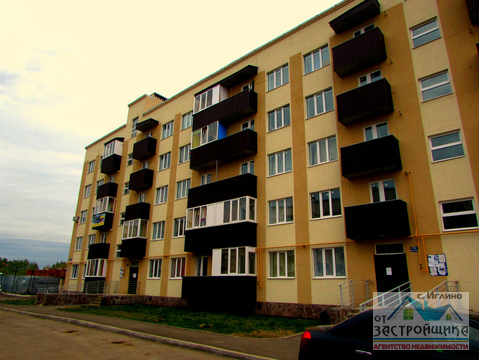 Продам 1-к квартиру, Иглино, улица Ворошилова 28г - Фото 1