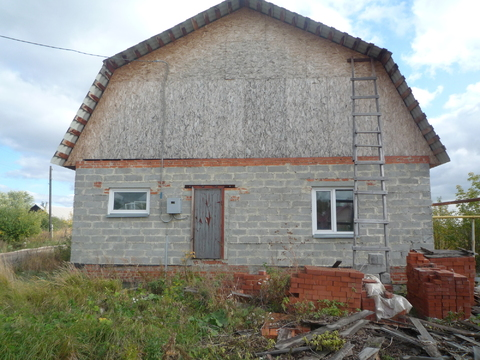 Предлагаем недостроенный дом в пос.Вахрушево по ул.40-летия Октября - Фото 2