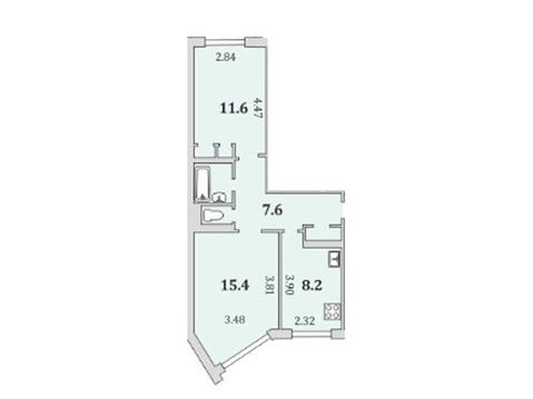 Квартира, Мурманск, Свердлова, Купить квартиру в Мурманске по недорогой цене, ID объекта - 322903454 - Фото 1