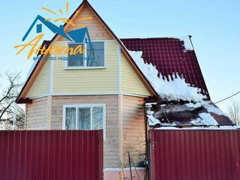 Продается деревянный дом в селе Ворсино Калужской области - Фото 1