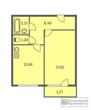 Просторная квартира с автономным отопление в новом доме в Волоколамске - Фото 2