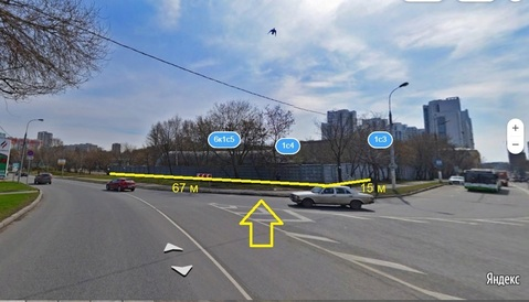 Земельный участок 10 соток с нежилым зданием 331 м2 набережная Москвы - Фото 2