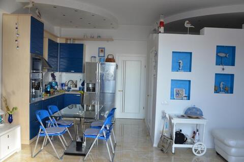 Видовая 2-к.квартира в новом престижном комплексе в Ялте - Фото 5
