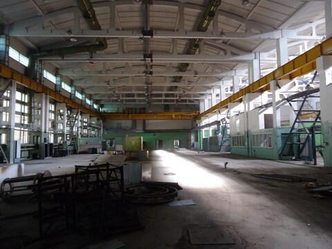 Производственное помещение 2400 м2 ( кран-балки 10 тон) - Фото 1