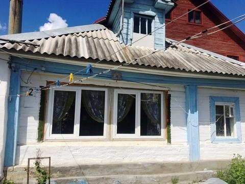 Часть дома общ.пл 80 кв.м. на участке 8 соток в г.Струнино, Продажа домов и коттеджей в Струнино, ID объекта - 502764080 - Фото 1