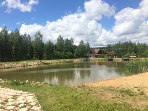 Земельный участок в лесу, 10 соток, Киевское ш, - Фото 1