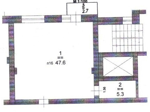 Сдаётся офис 55,6 кв.м. в Нижегородском районе на ул. Белинского. - Фото 2