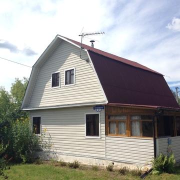 Продается 2-этажный деревянный дом (ЛПХ) площадью 90 кв. м. на 12 сотк - Фото 1