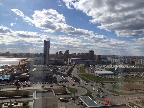 Двухкомнатная ул.Сибгата Хакима 42 ЖК Современник - Фото 1