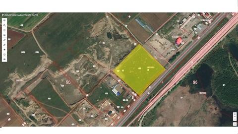 Продам земельный участок 0,5 га под пром-зону возле поселок Есауловка,