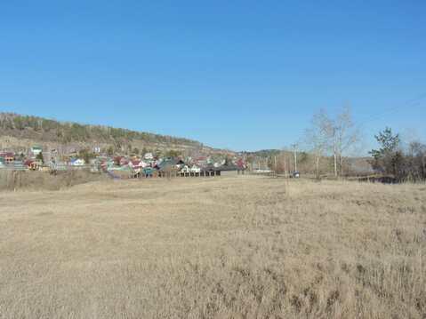 Продаётся участок рядом с Ангарой (100 метров до реки) - Фото 1