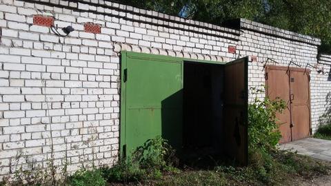 Двухъярусный кирпичный гараж 22,5 кв.м. в городе кимры - Фото 1