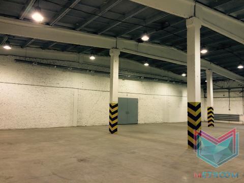 660 кв.м. теплый склад с антипылевыми полами - Фото 2