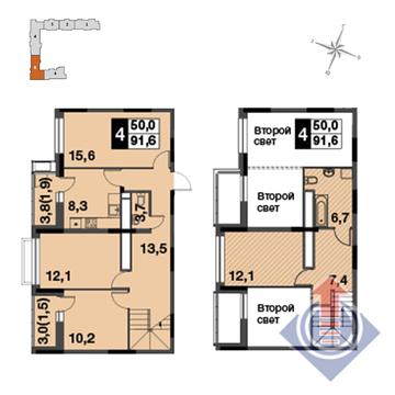 Продажа квартиры, Бородино, Мытищинский район - Фото 1