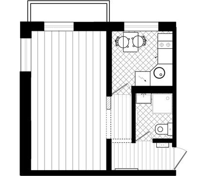 Продажа: 1 к.кв. ул. Медногорская, 20, Купить квартиру в Орске по недорогой цене, ID объекта - 329539321 - Фото 1
