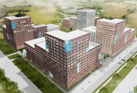 Продажа двухкомнатная квартира 52.7м2 в ЖК Суходольский квартал гп-1, . - Фото 3