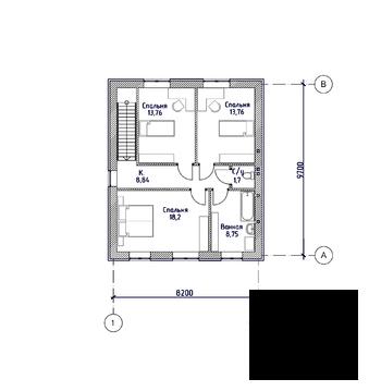 2 этажный кирпичный коттедж, Калининская - Фото 5