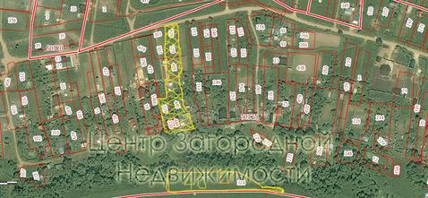 Участок, Симферопольское ш, Варшавское ш, 60 км от МКАД, Поповка д. . - Фото 2