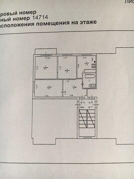 Продам 3х.к.квартиру панельный дом 5\5, опл 42 кв.м, в Больших Колпанах - Фото 2