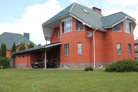 Дом 400 м2 на участке 12 соток в жилой деревне Жостово, 19 км от МКАД . - Фото 1