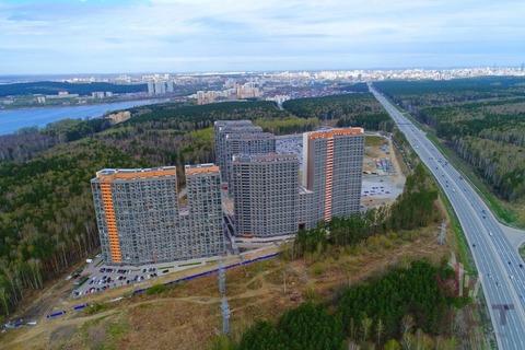 Квартира, ЖК Светлый, г. Екатеринбург - Фото 3
