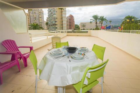 Сдаются апартаменты с видом на море в Кальпе, Испания. - Фото 3