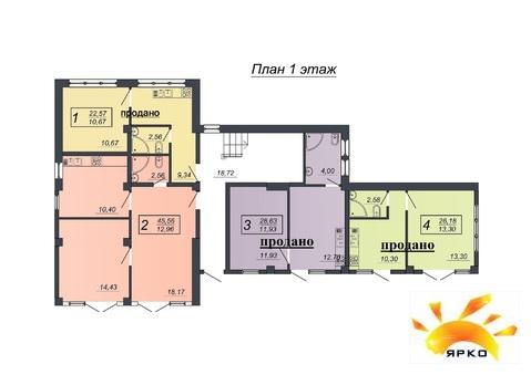 Продажа двухкомнатной квартиры в новом доме под отделку. - Фото 2