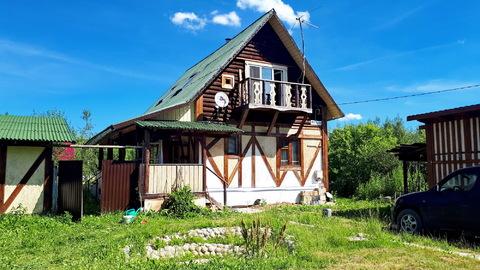 Продам теплый деревянный дом 100м2 в Заокском р-не, возле д.Новоселки - Фото 2