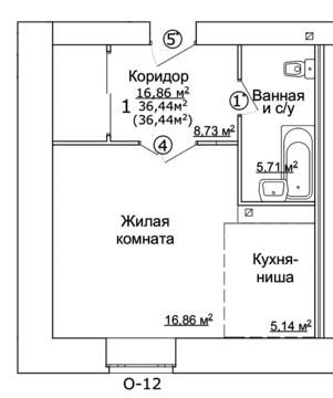Продаю кв-студию на ул. Ярославская 32 - Фото 3