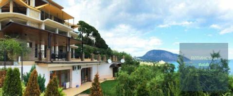 Продается дом 844 м2 на участке 37 сот. в тихом видовом месте Гурзуфа - Фото 3