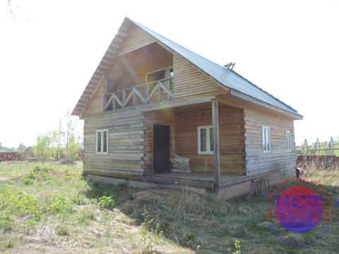 Новый дом 100м2 на уч-ке 15сот. в живописном месте, 85км.от МКАД - Фото 1