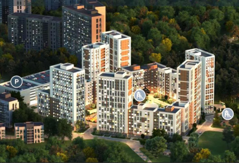 Двухкомнатная квартира в ЖК «Венский лес» - Фото 4