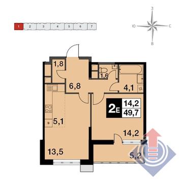 Продажа квартиры, Балашиха, Балашиха г. о, Энтузиастов Западная . - Фото 1