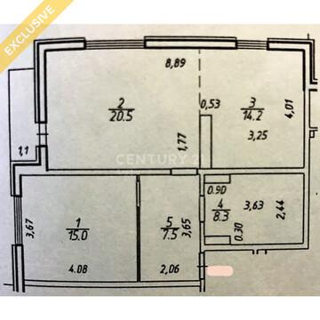 Продажа 2-к квартиры на 2/11 этаже на наб. Варкауса, д. 27/2 - Фото 3