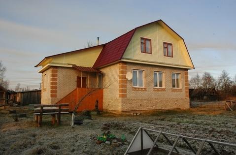 Продаётся дом с баней в д. Федорково Парфинского р-на - Фото 1