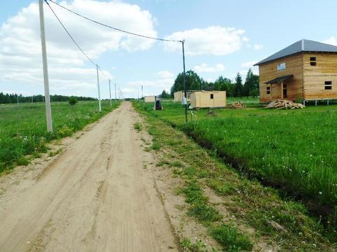 Участок в жилой деревне. - Фото 2
