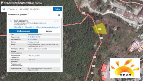Продажа земельного участка 10 соток в Ялте. - Фото 2