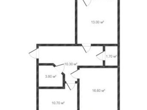 Продажа двухкомнатной квартиры на Солнечном бульваре, 4 в Калуге, Купить квартиру в Калуге по недорогой цене, ID объекта - 319812788 - Фото 1
