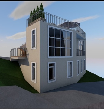 Участок на Савельева с проектом дома. - Фото 2