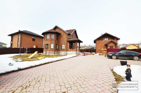 Благоустроенный 2-х этажный загородный дом с баней в г.Волоколамске - Фото 3