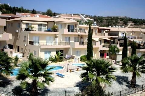 Просторный трехкомнатный апартамент с видом на море в районе Пафоса - Фото 1